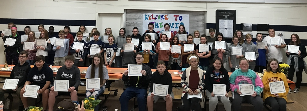 EMS Students of the Quarter Honored at a VIP Breakfast