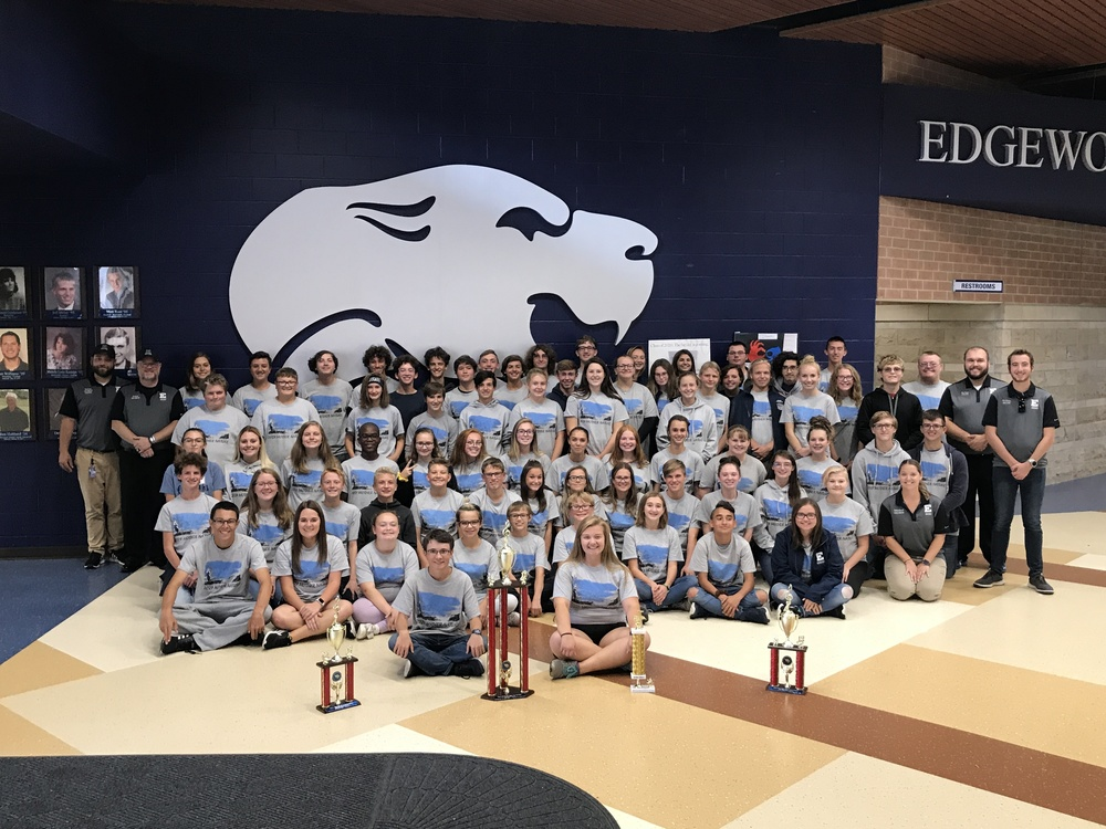 Edgewood Marching Cougars Qualify for OMEA State Finals!
