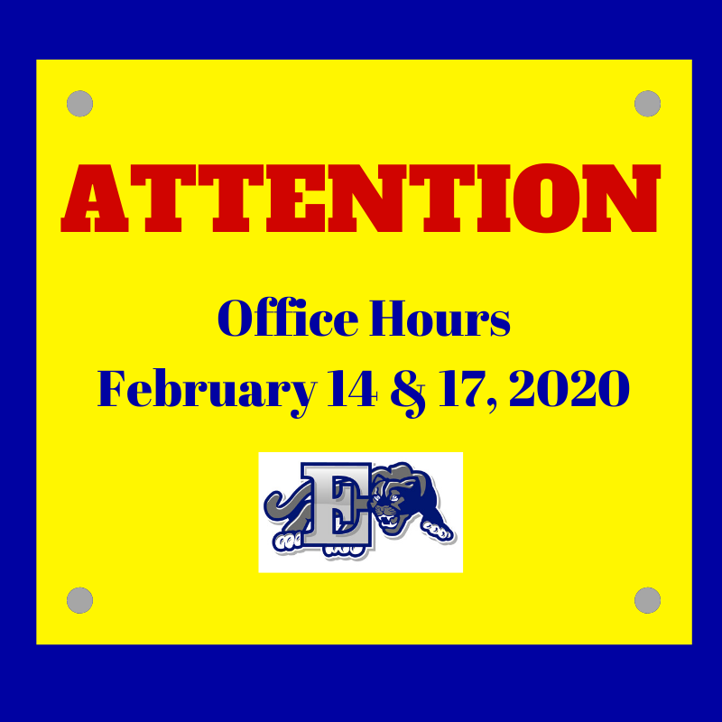 Office Hours for Edgewood Central Registration & Board of Education Office
