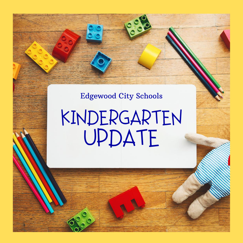 Kindergartner's 1st Day of School and Rescheduled Screening Dates