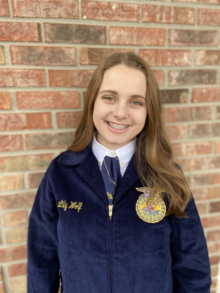 Congratulations Lily Wolf Named State Winner of the 2021 GROWMARK Essay  Contest