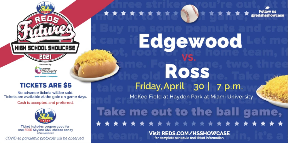 Edgewood vs Ross in Reds Futures HS Showcase