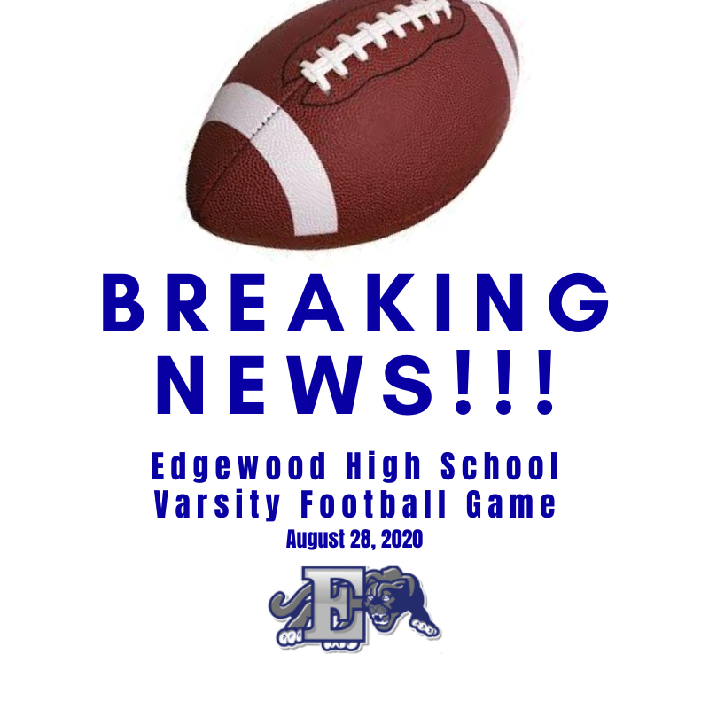 EHS Varsity Football Game Scheduled  with Winton Woods Friday Night, August 28