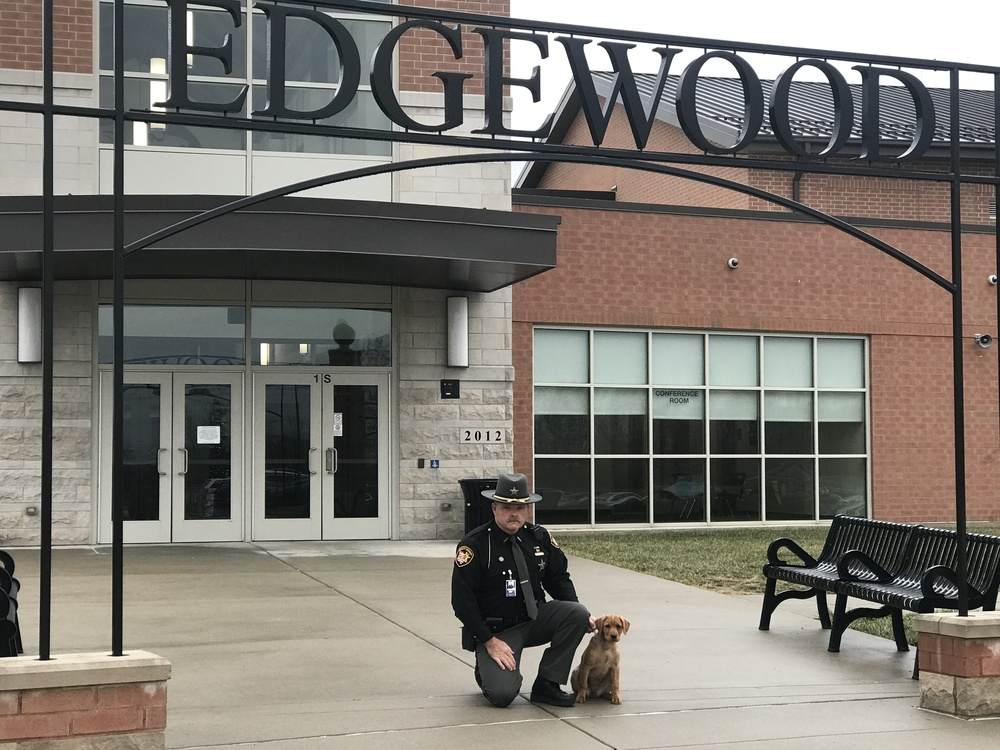 Welcome to Edgewood's New K-9