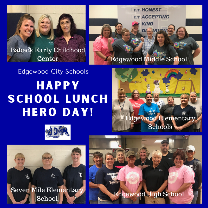 Recognizing our Food Service Teams on School Lunch Hero Day