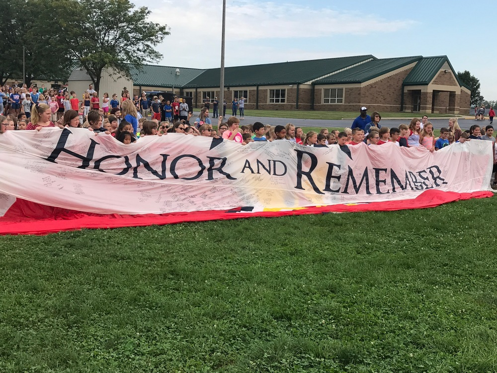 What a Memorable 9-11 Day for our EES Students and Staff