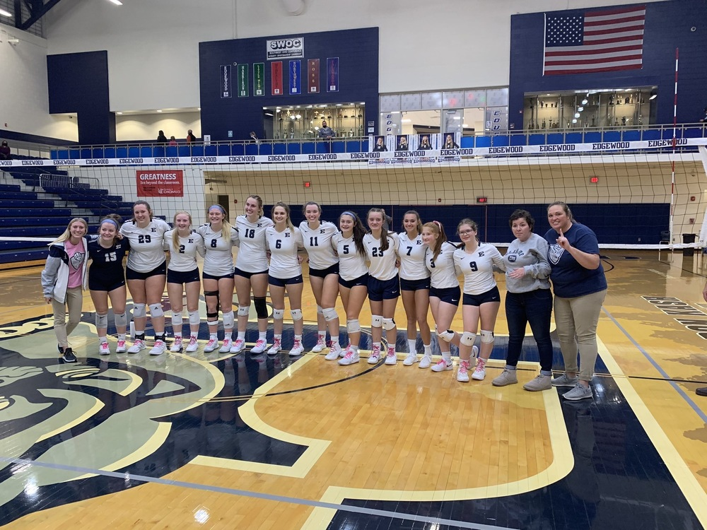 Our Lady Cougars Win 2020 SWOC Volleyball Co-Champions Title