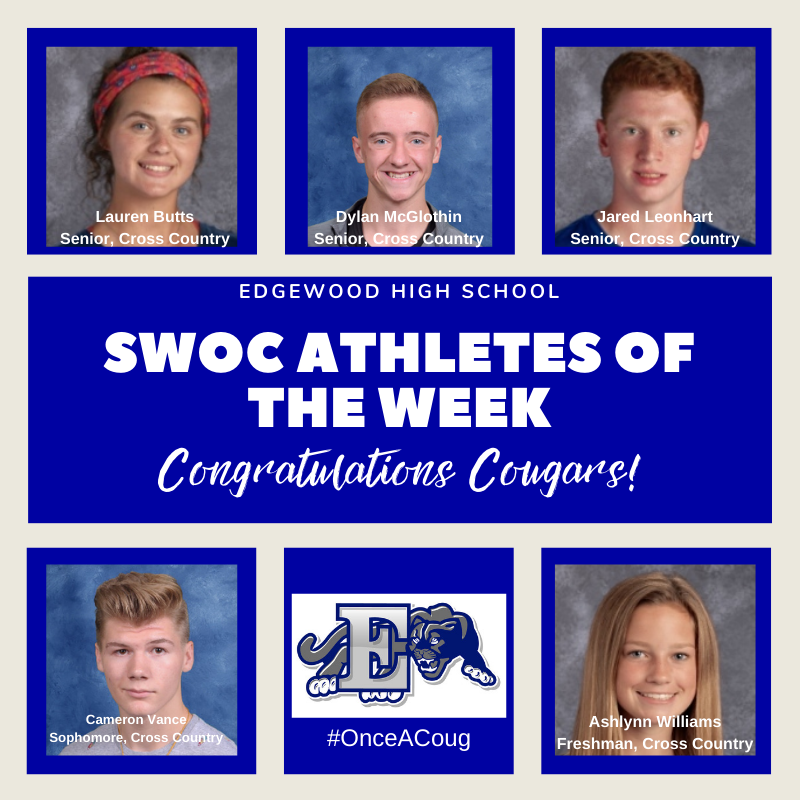 SWOC Athletes of the Week