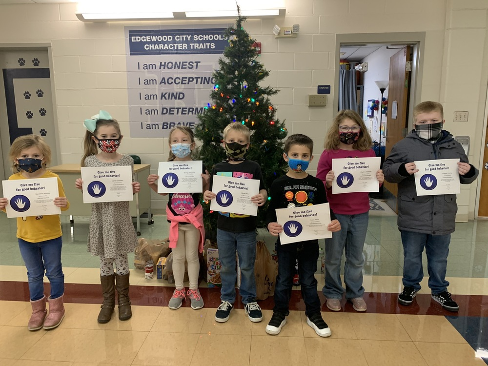 Babeck Students Recognized for Outstanding Character
