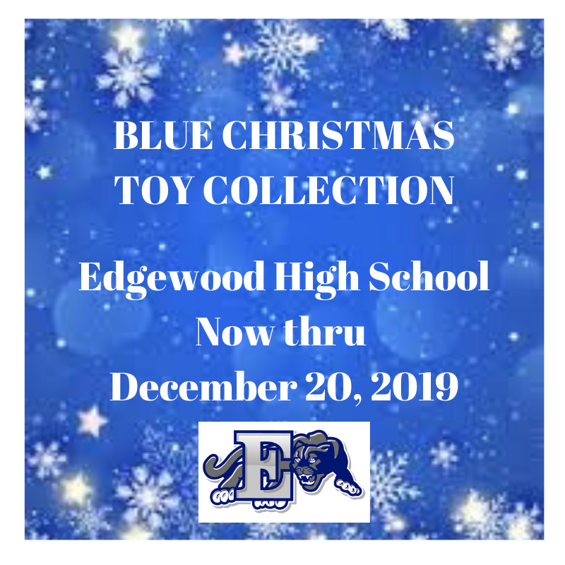 Blue Christmas Toy Collection Event is Underway
