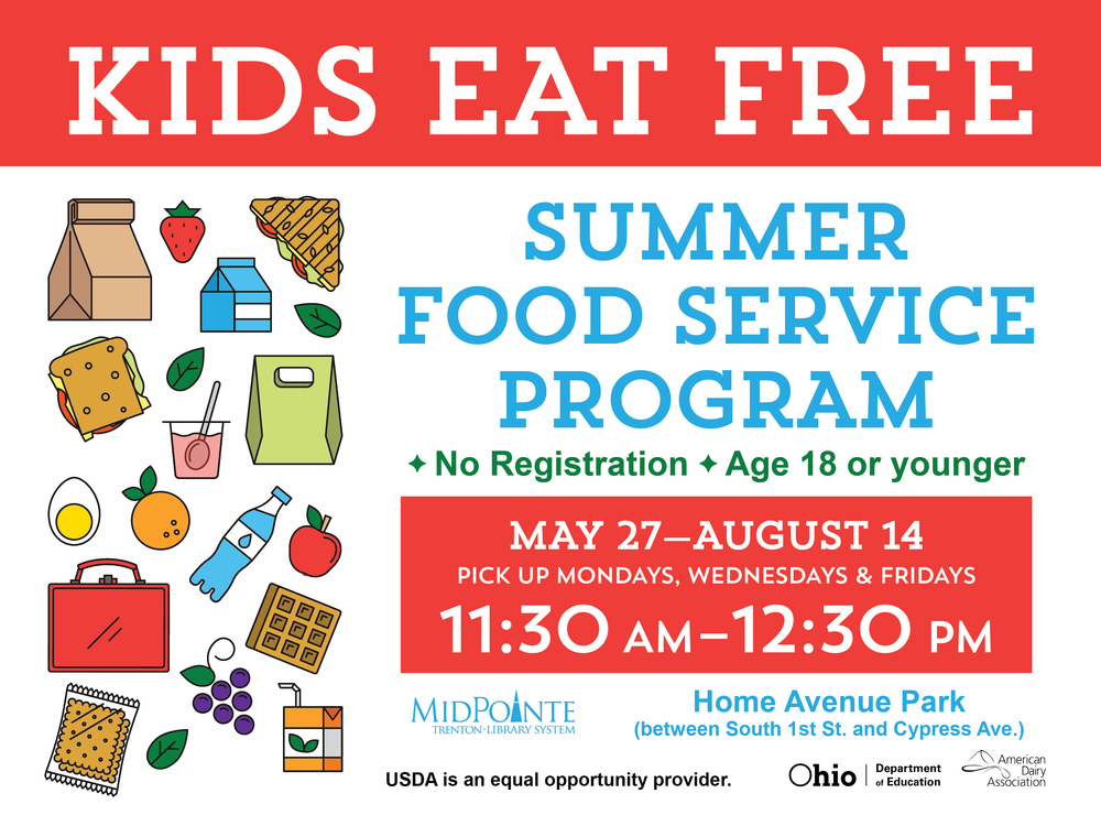 Area Summer Food Programs