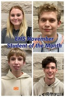 EHS November - Student of the Month
