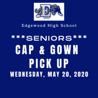 Cap and Gown Pickup Day Information