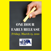 One Hour Early Release- Friday, March 13