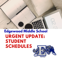 Urgent Update on EMS Student Schedules