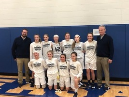 OUR 8TH GRADE LADY COUGARS BASKETBALL TEAM CONTINUES THEIR AMAZING WINNING STREAK!