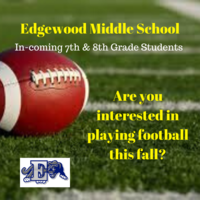 Edgewood Middle School Football 2020