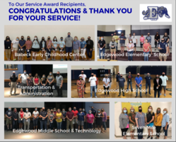 Congratulations to our 2020-2021 School Year Service Award Recipients!