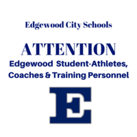 Edgewood Athletics Update: Wearing of Face Coverings by Student-Athletes, Coaches, and Training Personnel and Social Distancing Protocol