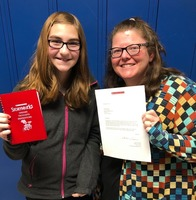 Madison Haag Selected as Scholastic Storyworks Contest Winner