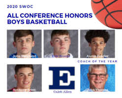 Boys Basketball Players Receive SWOC All Conference Honors
