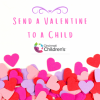 Send a Valentine to a Child in Cincinnati Children's Hospital