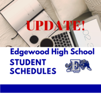 Change to When EHS Schedules will be Issued