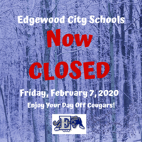 UPDATE: School Has Been Cancelled Friday, Feb. 7