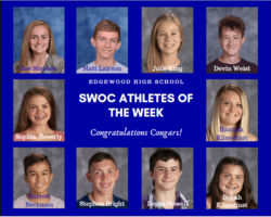 SWOC Athletes of the Week- October 14, 2019