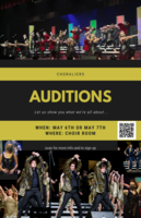 Edgewood Choralier Audition Information