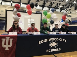 EHS Winter College Signing Event
