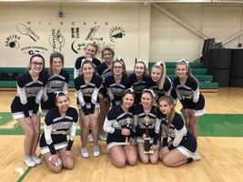 EHS Cheer Team Takes 1st Place!