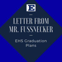 Letter from Mr. Russ Fussnecker regarding Graduation Plans for the Class of 2020
