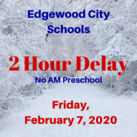Schools on 2 Hour Delay Today, February 7