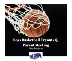 Boys Basketball Tryouts and Parent Meeting