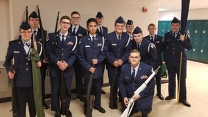 JROTC Cadets Place at Beavercreek Drill Meet