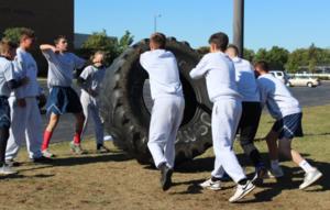JROTC Compete at Raiders Competition