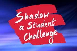 "EHS took the ""Shadow a Student Challenge"""