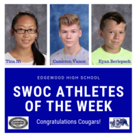 SWOC Athletes of the Week (Sept. 16-22)