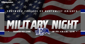 Military Appreciation Night - January 17