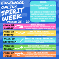 Edgewood Online Spirit Week (March 23-27)