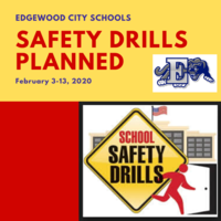 Safety Drills Planned (February 3-13)