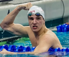 Zach Apple, Edgewood Alumni, Wins 7 Gold Medals This Summer