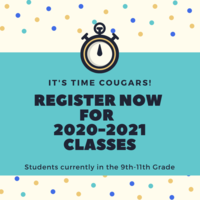 Scheduling Process for Students in Grades 9-11 (for the 2020-2021 School Year)