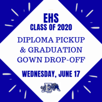 Graduation Gown Drop-off & Diploma Pick-up