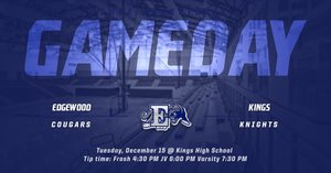 Cougars  BB travel to Kings today!