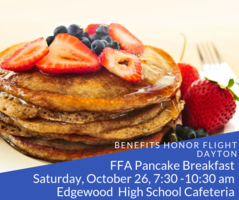 FFA Pancake Breakfast Fundraiser for Honor Flight Dayton