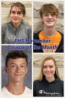EHS November - Cougar of the Month