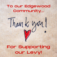 Thank You for Supporting our Levy!