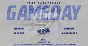 Cougars Basketball host Oakwood Lumberjacks
